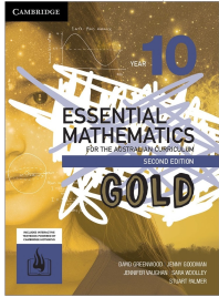 CAMBRIDGE ESSENTIAL MATHEMATICS GOLD FOR THE AUSTRALIAN CURRICULUM YEAR 10 TEXTBOOK + EBOOK
