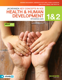 KEY CONCEPTS IN VCE HEALTH AND HUMAN DEVELOPMENT UNITS 1&2 5E & EBOOKPLUS (INCL. STUDYON)