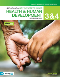 KEY CONCEPTS IN VCE HEALTH AND HUMAN DEVELOPMENT UNITS 3&4 5E & EBOOKPLUS (INCL. STUDYON)