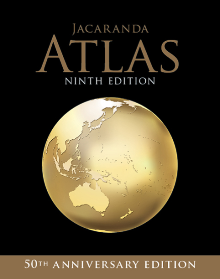 JACARANDA ATLAS FOR THE AUSTRALIAN CURRICULUM + EBOOK (9E)