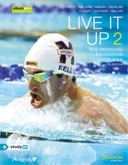 Buy book live it up 2 vce physical education units 34 4e live it up 2 vce physical education units 34 4e ebookplus incl fandeluxe Choice Image