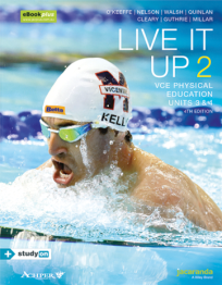 LIVE IT UP 2 VCE PHYSICAL EDUCATION UNITS 3&4 4E EBOOK (INCL STUDYON)