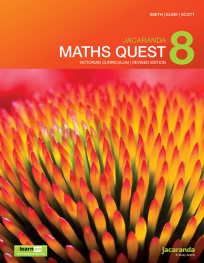 JACARANDA MATHS QUEST 8 VICTORIAN CURRICULUM 1E REVISED TEXTBOOK + LEARNON