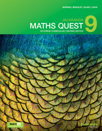 JACARANDA MATHS QUEST 9 VICTORIAN CURRICULUM 1E REVISED TEXTBOOK + LEARNON