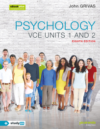 JACARANDA PSYCHOLOGY VCE UNITS 1&2 8E & EBOOKPLUS