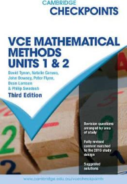 CHECKPOINTS VCE MATHS METHODS UNITS 1&2
