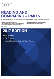 THE CRUCIBLE & YEAR OF WONDERS: A NOVEL OF THE PLAGUE: NEAP ENGLISH READING AND COMPARING GUIDE PAIR 5