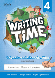 WRITING TIME BOOK 4 STUDENT BOOK: VICTORIAN MODERN CURSIVE