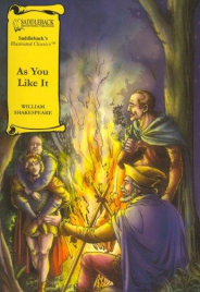 AS YOU LIKE IT: GRAPHIC NOVEL SADDLEBACK ILLUSTRATED CLASSICS