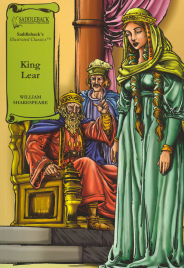 KING LEAR: GRAPHIC NOVEL SADDLEBACK ILLUSTRATED CLASSICS