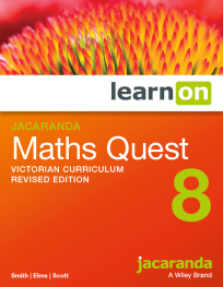 JACARANDA MATHS QUEST 8 VICTORIAN CURRICULUM LEARNON EBOOK