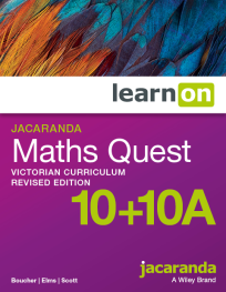 JACARANDA MATHS QUEST 10+10A VICTORIAN CURRICULUM LEARNON EBOOK