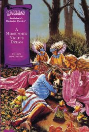 A MIDSUMMER NIGHT'S DREAM: GRAPHIC NOVEL SADDLEBACK ILLUSTRATED CLASSICS