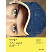 OXFORD PSYCHOLOGY UNITS 1+2 STUDENT BOOK + OBOOK/ASSESS 3E