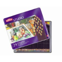 24 DERWENT STUDIO COLOUR PENCILS