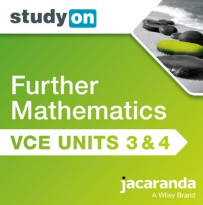 STUDYON VCE FURTHER MATHS UNITS 3&4 2E EBOOK