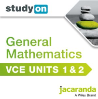 STUDYON VCE GENERAL MATHS UNITS 1&2 EBOOK