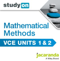 STUDYON VCE MATHS METHODS UNITS 1&2 EBOOK