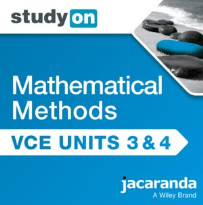 STUDYON VCE MATHS METHODS UNITS 3&4 2E EBOOK