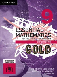 CAMBRIDGE ESSENTIAL MATHEMATICS GOLD FOR THE AUSTRALIAN CURRICULUM YEAR 9 TEXTBOOK + EBOOK