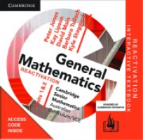 CAMBRIDGE SENIOR MATHS AC/VCE: GENERAL MATHS UNITS 1&2 REACTIVATION CODE