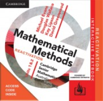 CAMBRIDGE SENIOR MATHS AC/VCE: MATHEMATICAL METHODS UNITS 1&2 REACTIVATION CODE