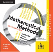 CAMBRIDGE SENIOR MATHS AC/VCE: METHODS UNITS 3&4 REACTIVATION CODE