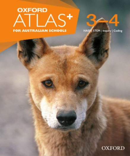 OXFORD ATLAS FOR AUSTRALIAN SCHOOLS 3-4