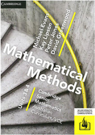 CAMBRIDGE SENIOR MATHS AC/VCE: MATHEMATICAL METHODS UNITS 3&4 EBOOK