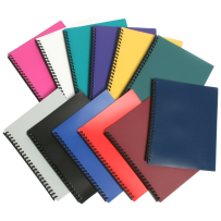 A4 DISPLAY BOOK 20 POCKETS REFILLABLE