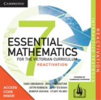CAMBRIDGE ESSENTIAL MATHEMATICS FOR THE VIC YEAR 7 REACTIVATION CODE