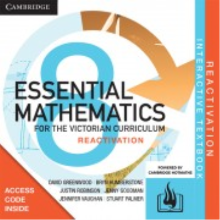 Buy Book - CAMBRIDGE ESSENTIAL MATHEMATICS FOR THE VIC YEAR