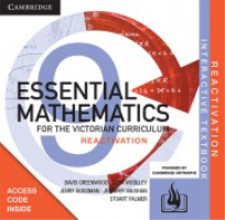CAMBRIDGE ESSENTIAL MATHEMATICS FOR THE VIC YEAR 9 REACTIVATION CODE
