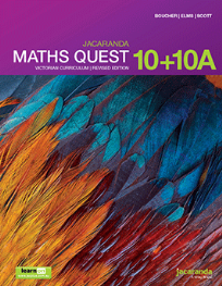JACARANDA MATHS QUEST 10+10A VICTORIAN CURRICULUM 1E REVISED TEXTBOOK + LEARNON
