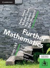 CAMBRIDGE SENIOR MATHS AC/VCE: FURTHER MATHEMATICS UNITS 3&4 EBOOK