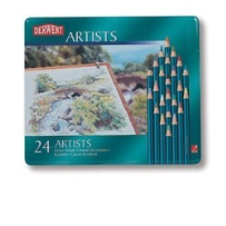 24 DERWENT ARTIST COLOUR PENCILS