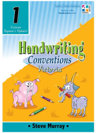 HANDWRITING CONVENTIONS VIC BOOK 1