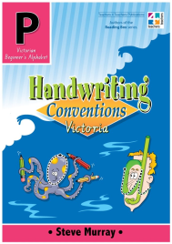 HANDWRITING CONVENTIONS VIC BOOK P