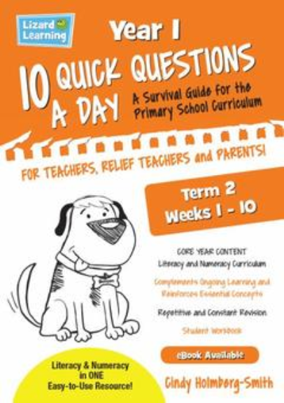 10 QUICK QUESTIONS A DAY YEAR 1: TERM 2