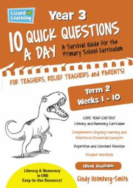 10 QUICK QUESTIONS A DAY YEAR 3: TERM 2