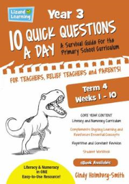 10 QUICK QUESTIONS A DAY YEAR 3: TERM 4