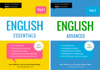 ULTIMATE VCE ENGLISH STUDY GUIDE BUNDLE (ENGLISH ESSENTIALS PART 1 & ENGLISH ADVANCED PART 2)