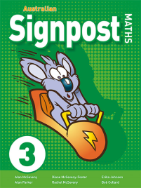 AUSTRALIAN SIGNPOST MATHS 3 STUDENT ACTIVITY BOOK 3E
