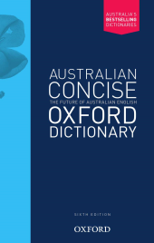 AUSTRALIAN CONCISE OXFORD DICTIONARY 6E PAPERBACK