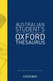 OXFORD AUSTRALIAN STUDENT'S (COLOUR) THESAURUS