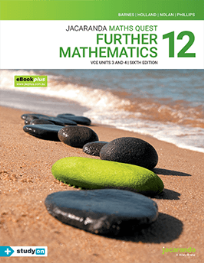 MATHS QUEST 12 FURTHER MATHEMATICS 6E VCE UNITS 3&4 & EBOOKPLUS 6E (INCL STUDYON)