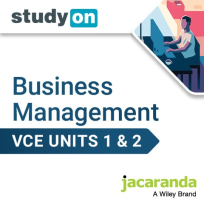 STUDYON VCE BUSINESS MANAGEMENT UNITS 1&2 EBOOK