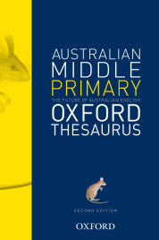 OXFORD AUSTRALIAN MIDDLE PRIMARY THESAURUS
