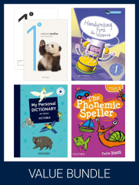 OXFORD VALUE BUNDLE VICTORIAN CURRICULUM YEAR 1 (PRINT + DIGITAL)