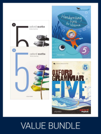 OXFORD VALUE BUNDLE VICTORIAN CURRICULUM YEAR 5 (PRINT + DIGITAL)